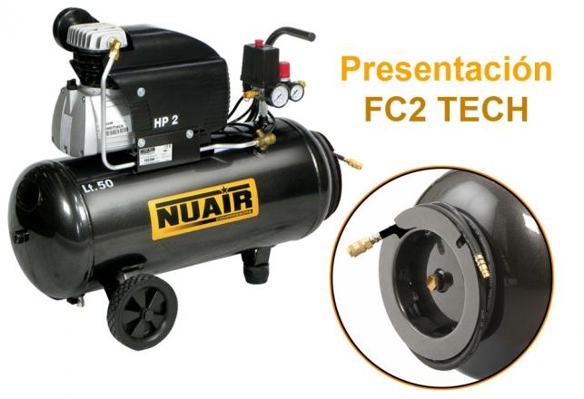 FC-2 TECH Enrollador+mang. 152