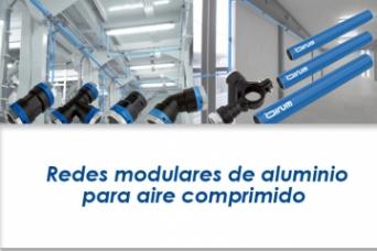 Redes modulares para aire comprimido