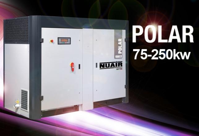 Presentamos compresores tornillo gama POLAR hasta 250kw 136