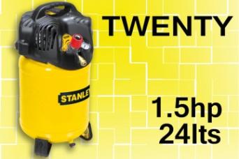 Nuevo compresor TWENTY compresor vertical 1.5hp