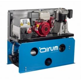 Motocompresor gasolina con generador