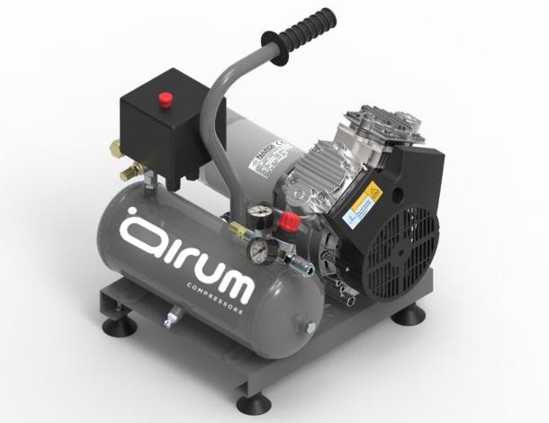 Compresor de pistón 12volt. sin aceite, con 2 pistones en V sin aceite, presión máxima barbar, deposito de 7 lts, de fácil uso, ergonómico y ligero.