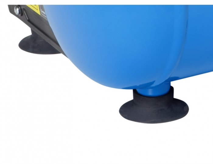 Pies anti vibratorios de ventosa para una mayor estabilidad durante el trabajo y transporte.