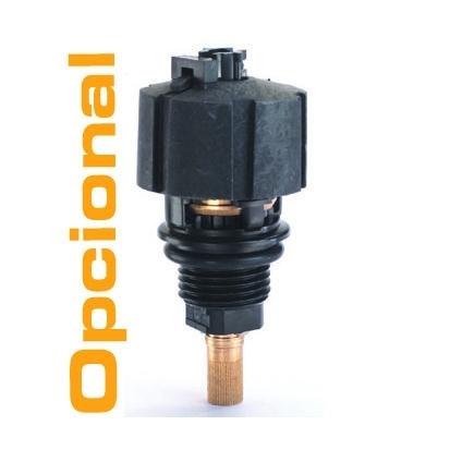 Opcional:purga interna automatica de condensados (el filtro estandar se suministra con purga manual)