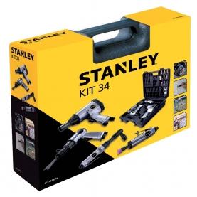 Kit Pneumatico 34pcs STANLEY