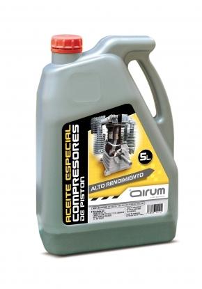 Lata 5lt de aceite de piston para compresores de piston de la gama NUAIR.