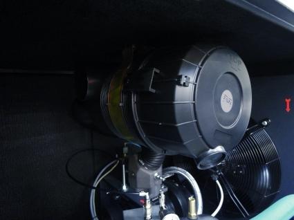 el cartucho de doble etapa de filtracion permite el uso en ambientes polvorientos.