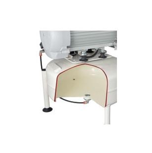 El tratamiento especial de la superficie interna evita la oxidacion y la corrosion del tanque de aire.