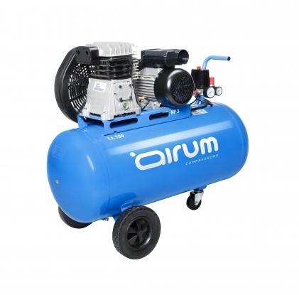 Compresor de piston, portatil y lubricado.  Robusto, compacto y potente. Compresor idoneo para el bricolaje avanzado y uso profesional.