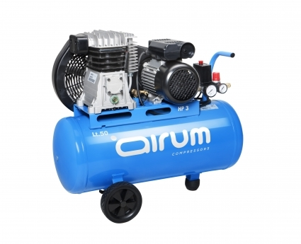 Compresor de piston, portatil y lubricado.  Robusto, compacto y potente de 2hp. Compresor idoneo para el bricolaje avanzado y uso profesional.