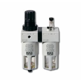 """Filtro regulador lubricador 1"""" con manometro"""