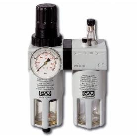 Filtro regulador lubricador 1/2 con manometro