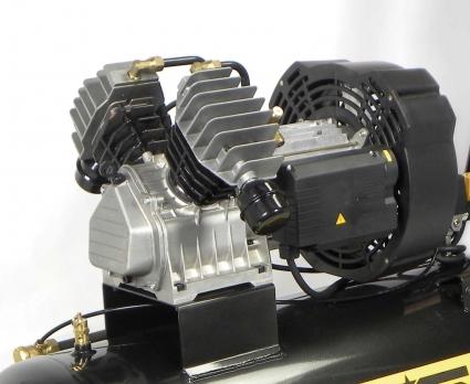 Cabezal coaxial bicilindrico en V a 1450rpm. De elevado rendimiento y alta fiabilidad.