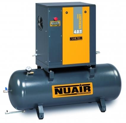 Compresor de tornillo sobre caldera:  Caracteristicas tecnicas y extras que incorpora: