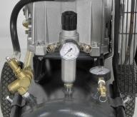 Regulador de presión sobre-dimensionado con doble salida de aire.