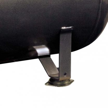 Pies anti-vibracion de gran tamano que procuran una mayor estabilidad durante el funcionamiento. Incluidos en el compresor.