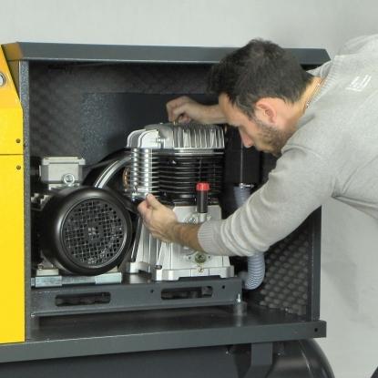 Diseño para facilitar el mantenimiento de sus componentes internos.