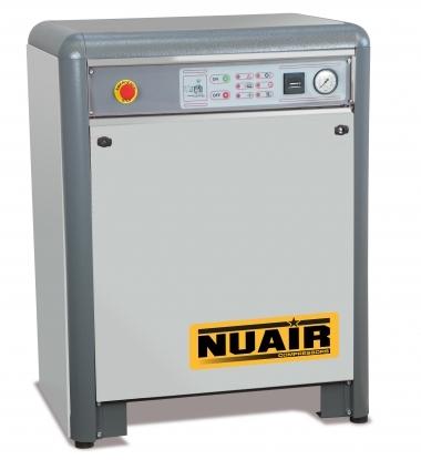 Compresor de piston insonorizado. Ideados para resolver el problema del ruido en el ambiente de trabajo.  Con cuadro Arrancador Estrella Triangulo