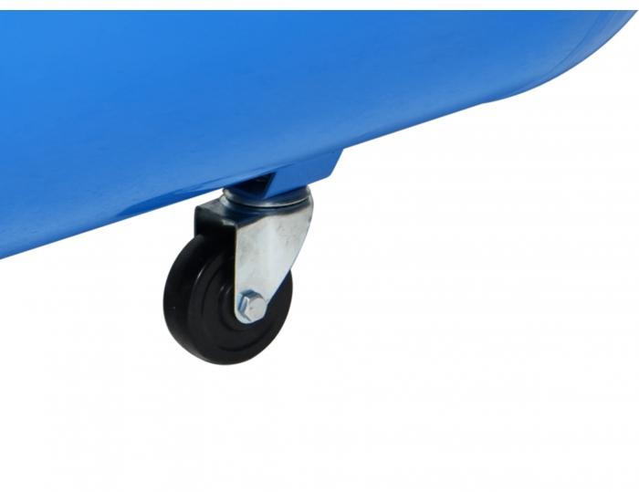 Rueda giratoria para mejorar el transporte del compresor.